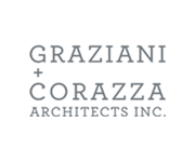 Graziani + Corazza Architects Inc. Logo